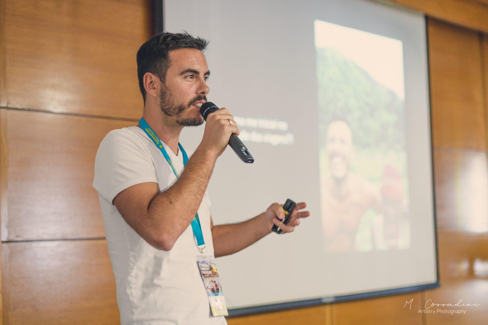 O videógrafo João Cajuda