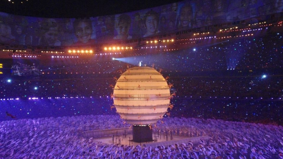 Abertura Jogos Olimpicos de Pequim